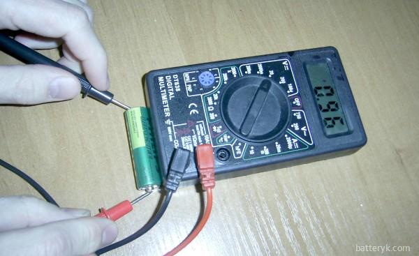 Проверка батарейки