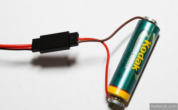 Зарядка аккумуляторной батарейки