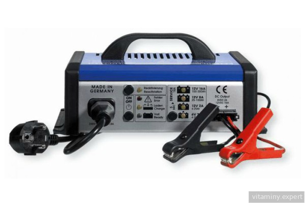 Зарядное устройство для щелочного аккумулятора