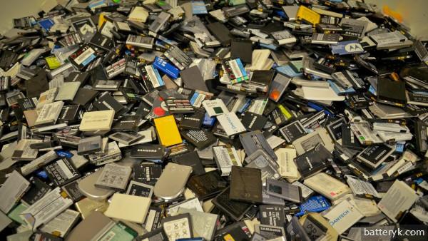 Аккумуляторы на переработку