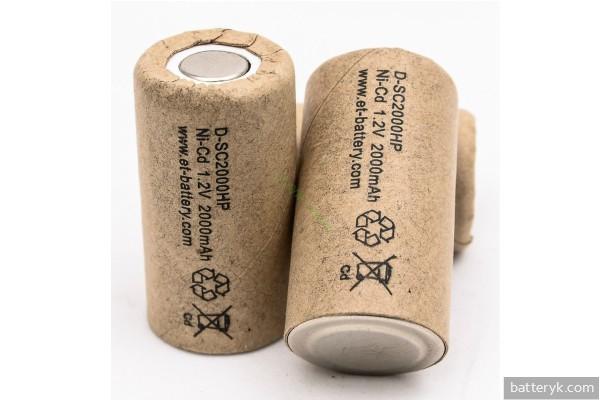 Новые Ni-Cd батарейки