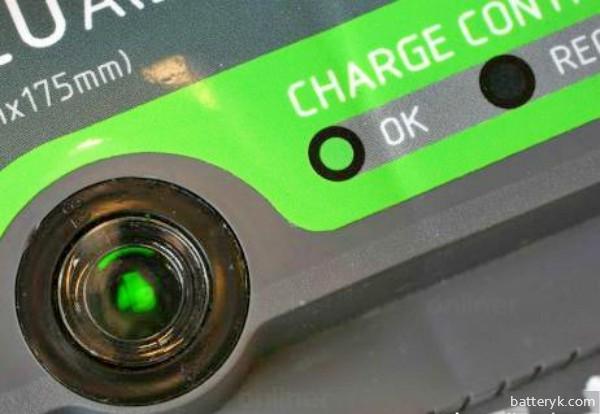 Зеленый индикатор