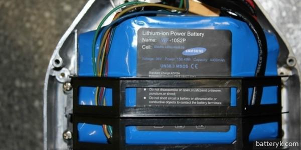 Батарея гироскутера