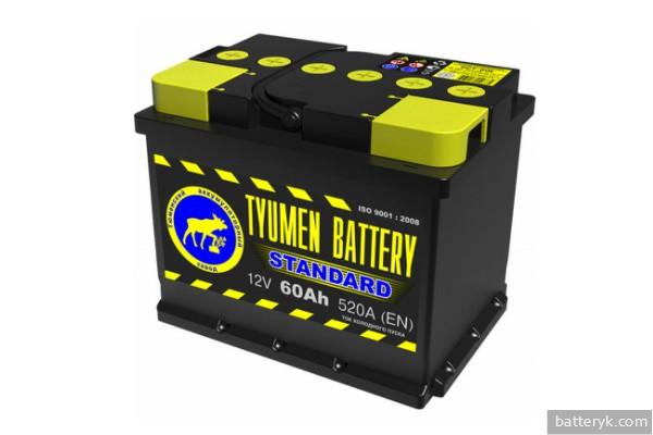 Отечественный аккумулятор ISO стандарта