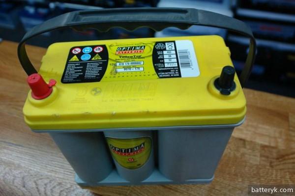 Гелевая батарея для автомобиля