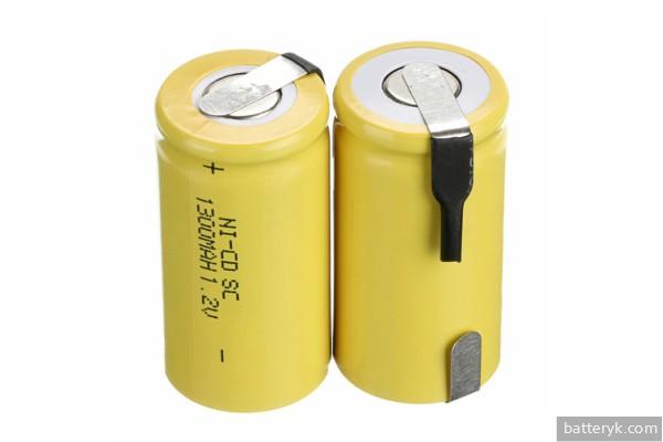 Никель-кадмиевые батарейки для шуруповерта