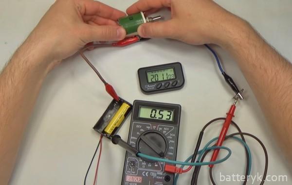 Схема измерения емкости мультиметром