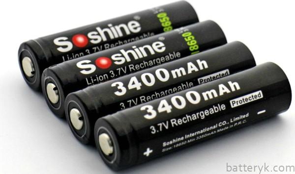 Li-Ion аккумуляторные батарейки