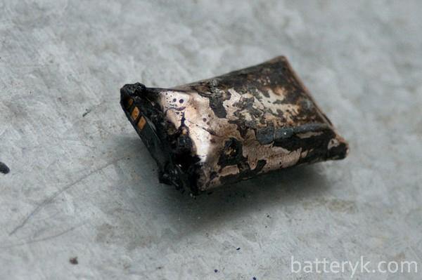 Сгорел аккумулятор