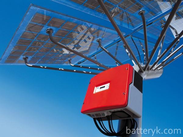 Солнечная панель и инвертор
