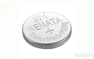 Миниатюра к статье Батарейка Renata 371: характеристики и аналоги