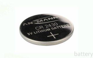 Миниатюра к статье Батарейка CR2430: описание и аналоги