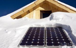 Миниатюра к статье Работа солнечных батарей зимой и способы увеличения их производительности
