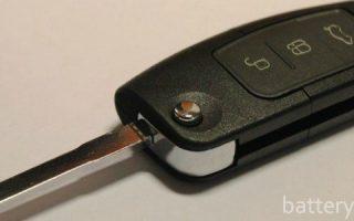 Миниатюра к статье Как заменить батарейки в ключах от автомобилей Форд Фокус 2 и 3