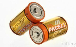 Миниатюра к статье Характеристика и сфера применения батареек типа D