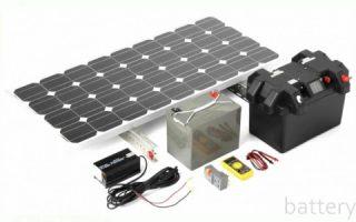 Миниатюра к статье Виды аккумуляторов для солнечных батарей