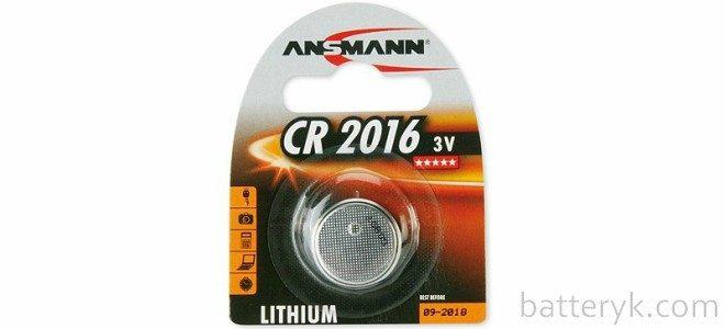 Миниатюра к статье Характеристики батарейки CR2016