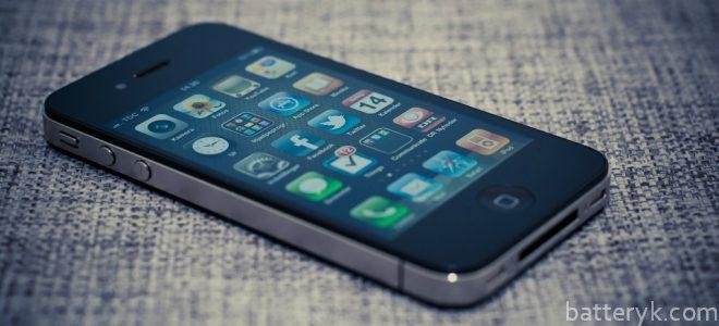 Миниатюра к статье Меняем аккумулятор на iPhone 4S