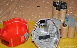Миниатюра к статье Как разобрать и переделать аккумулятор от шуруповерта своими руками