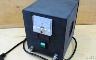 Миниатюра к статье Как сделать зарядное устройство для гелевого аккумулятора своими руками
