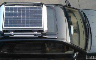 Миниатюра к статье О солнечных батареях для зарядки аккумулятора автомобиля