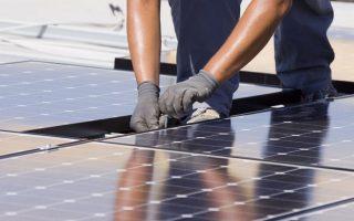 Миниатюра к статье Процесс установки солнечных батарей