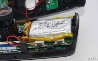 Миниатюра к статье Как заменить аккумулятор в видеорегистраторе Mio?
