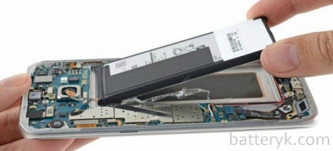 Миниатюра к статье Как заменить аккумулятор на Samsung Galaxy S6 и других моделях
