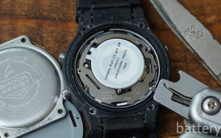 Миниатюра к статье Как произвести замену батарейки в часах Сasio